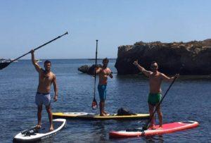 Sup big paddle surf isla de Tabarca