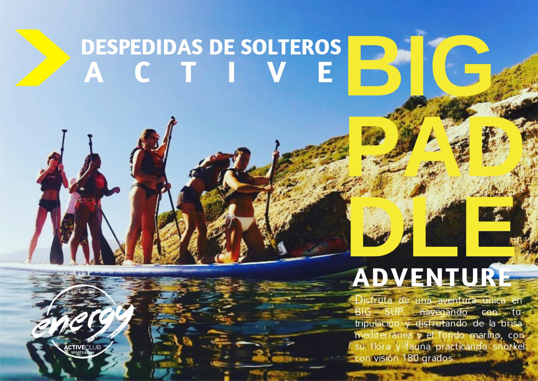 despedida big paddle Alicante