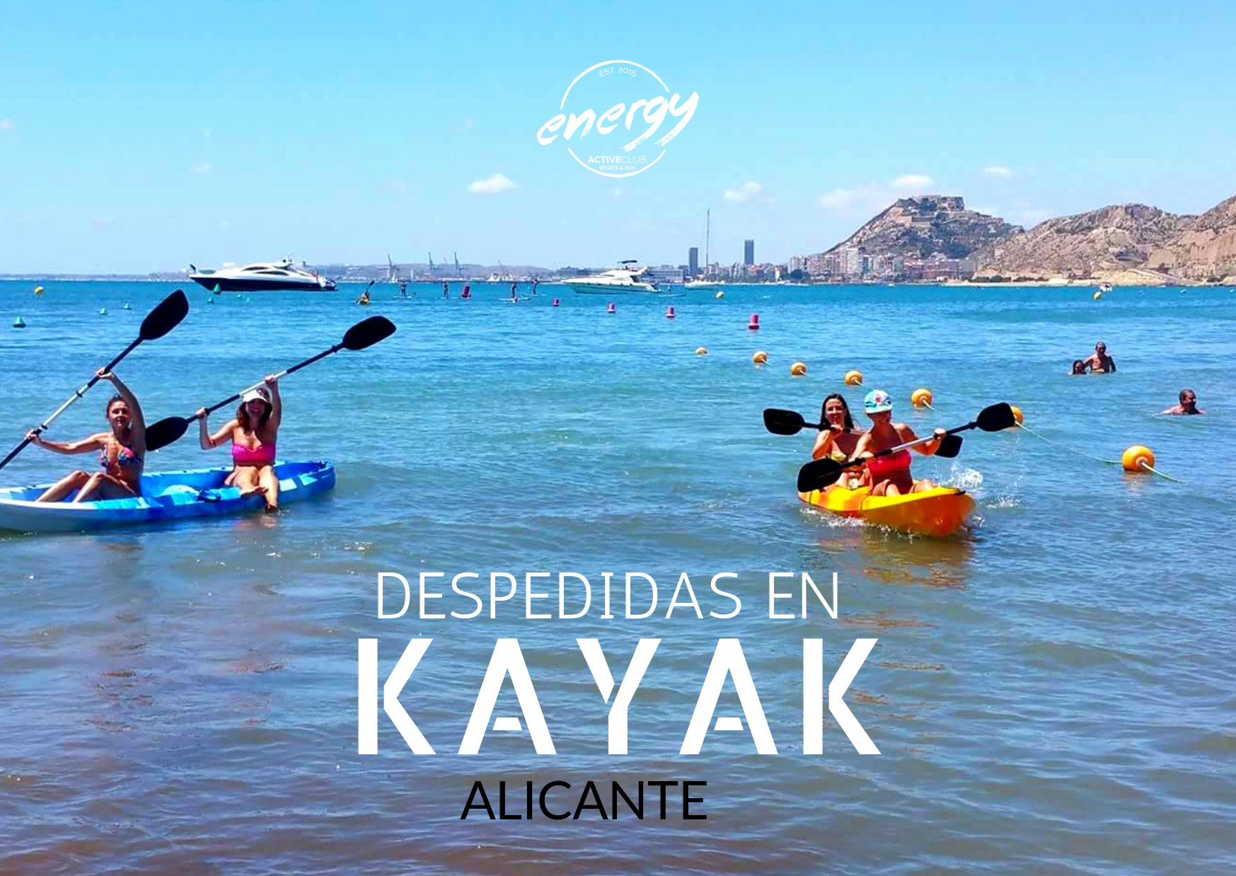 Despedida Kayak alicante