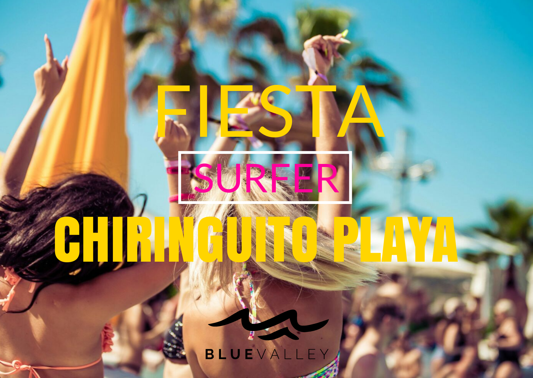 Fiesta chiringuito playa alicante