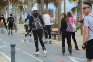 Curso patinaje Alicante energy Playa de san juan
