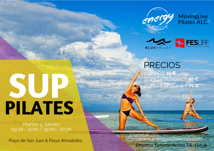 SUP PIlates Alicante