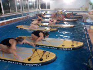 Aquapaddle® paddle surf al ritmo de la música