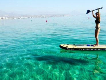 iniciación paddle surf